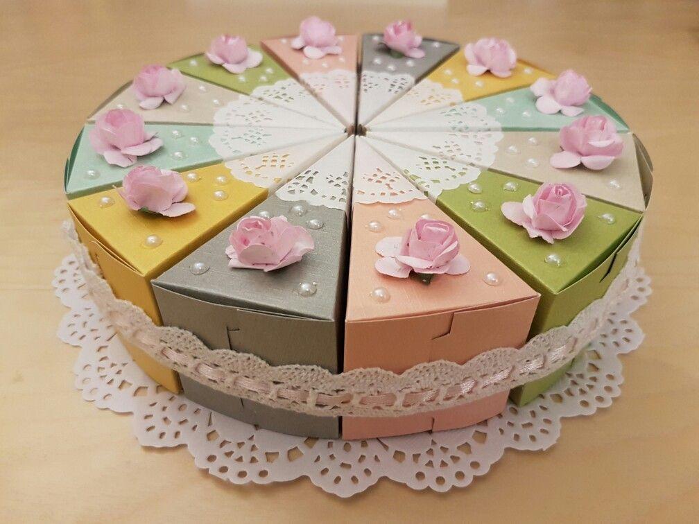 бумажный торт для поздравлений многие