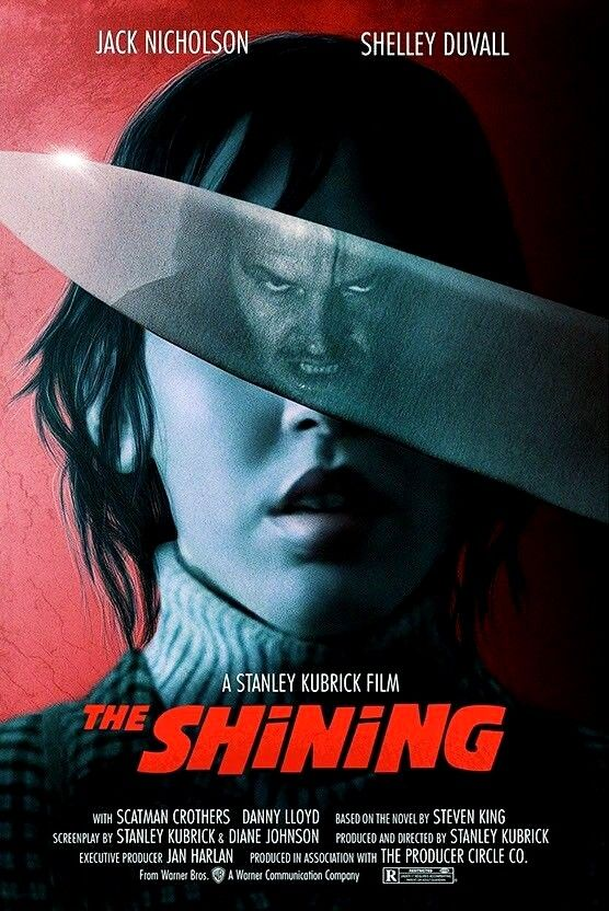 The Shining Movie Movieposter Poster Illustration Alternative