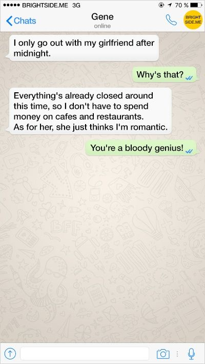 11 Witty Put-Downs to Dull Text Pickup Lines | Brightside