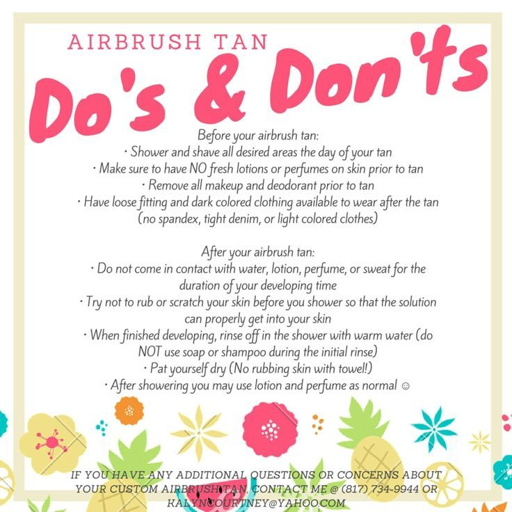 Custom Mobile Airbrush Tans In The Fort Worth, TX Area! Spray Tan Before  Andu2026
