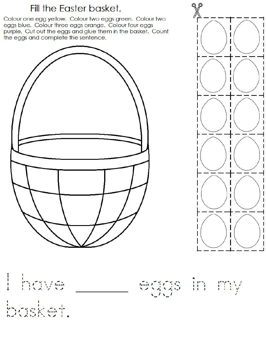 Easter Worksheet 1 | Scribd | Easter | Pinterest | Worksheets ...