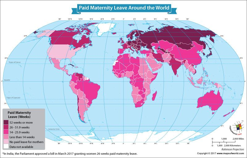 The best and worst countries for paid maternity leave the best and worst countries for paid maternity leave our world gumiabroncs Choice Image