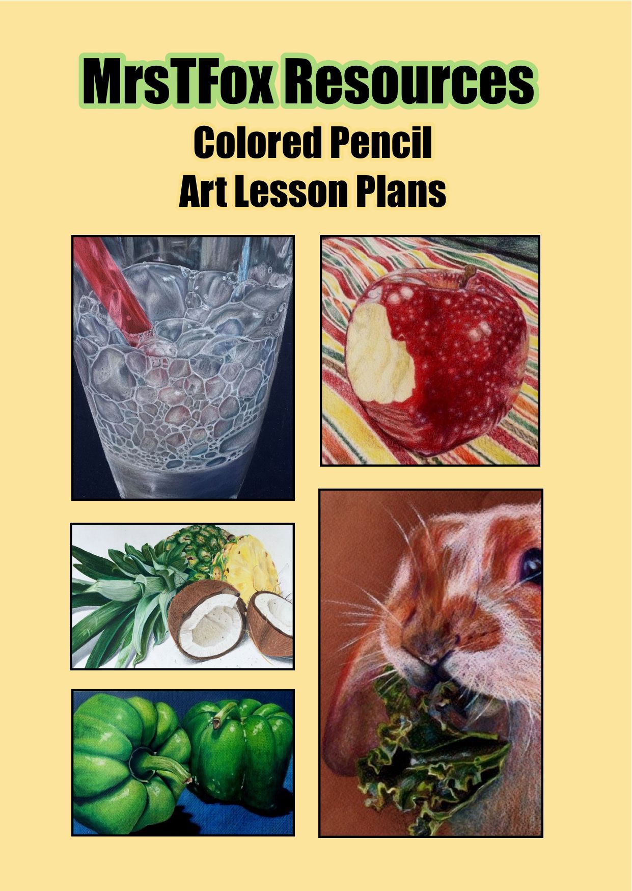 Beginners To Advanced Colored Pencil Lesson Plans