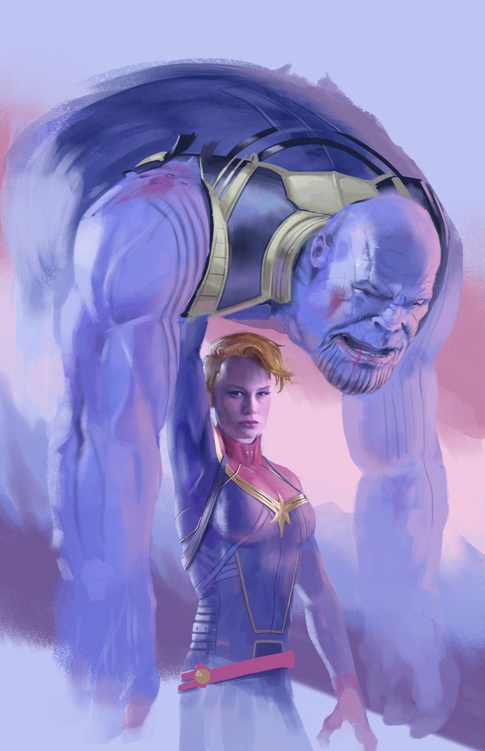 avengers 4 capatin marvel vs thanos capital marvel la mejor de