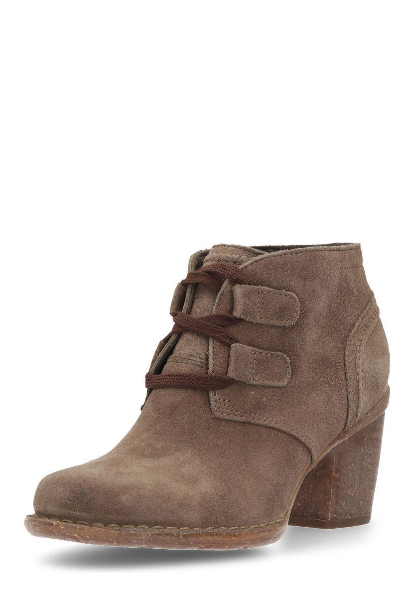 Clarks Ankle-Boots Carleta Lyon, Leder, Absatz 7,5 cm braun Jetzt bestellen  unter: https://mode.ladendirekt.de/damen/schuhe/stiefeletten/ankleboots/?uid=  ...