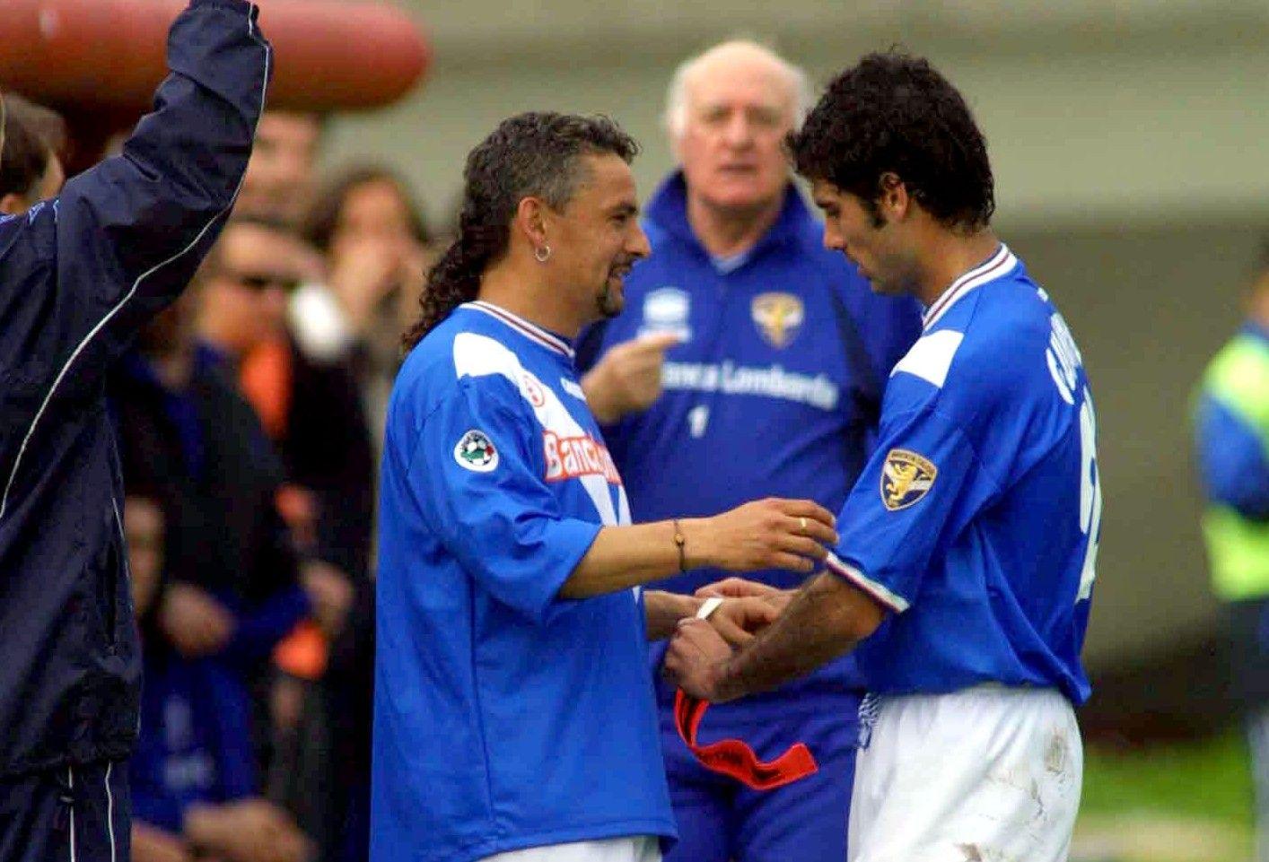 Roberto Baggio & Pep Guardiola - Brescia