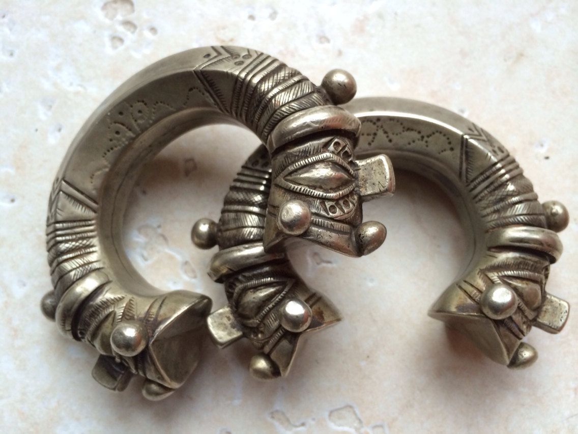 Pakistan - Ethnic bracelet set from Swat ValleyBijouxBizar Etsy