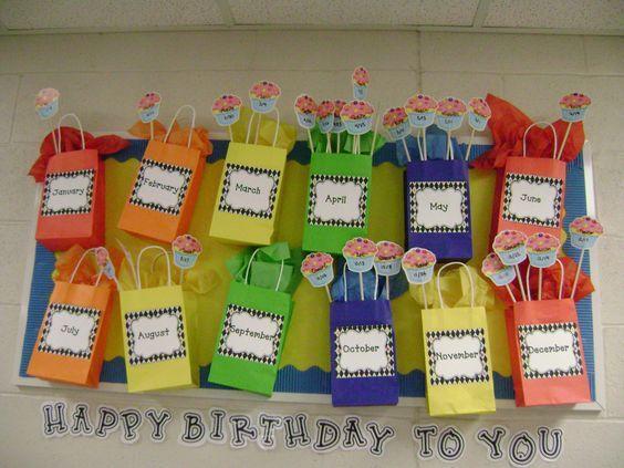 Cartazes para aniversariantes do m s aula aniversarios - Mural para cumpleanos ...