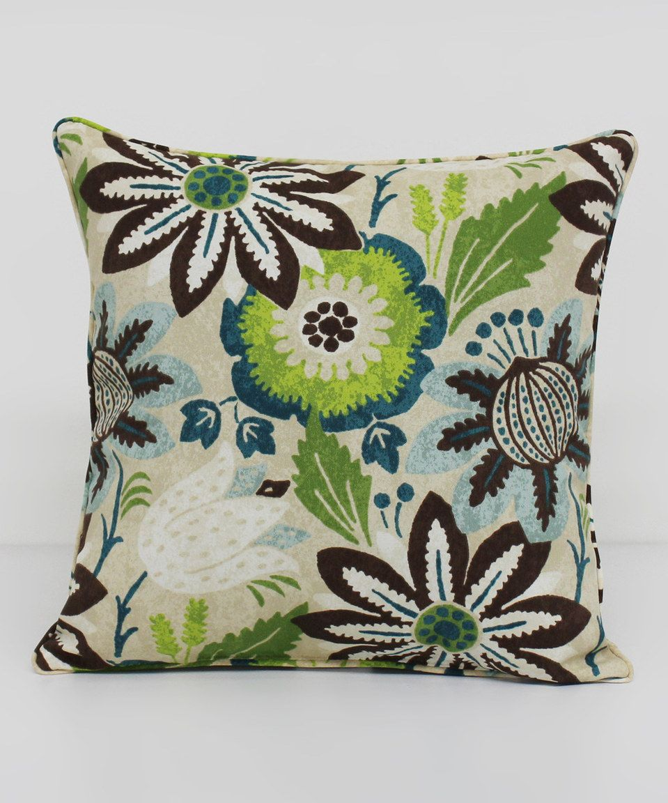 Jasmine Grotto Square Throw Pillow By Brentwood Originals Zulily
