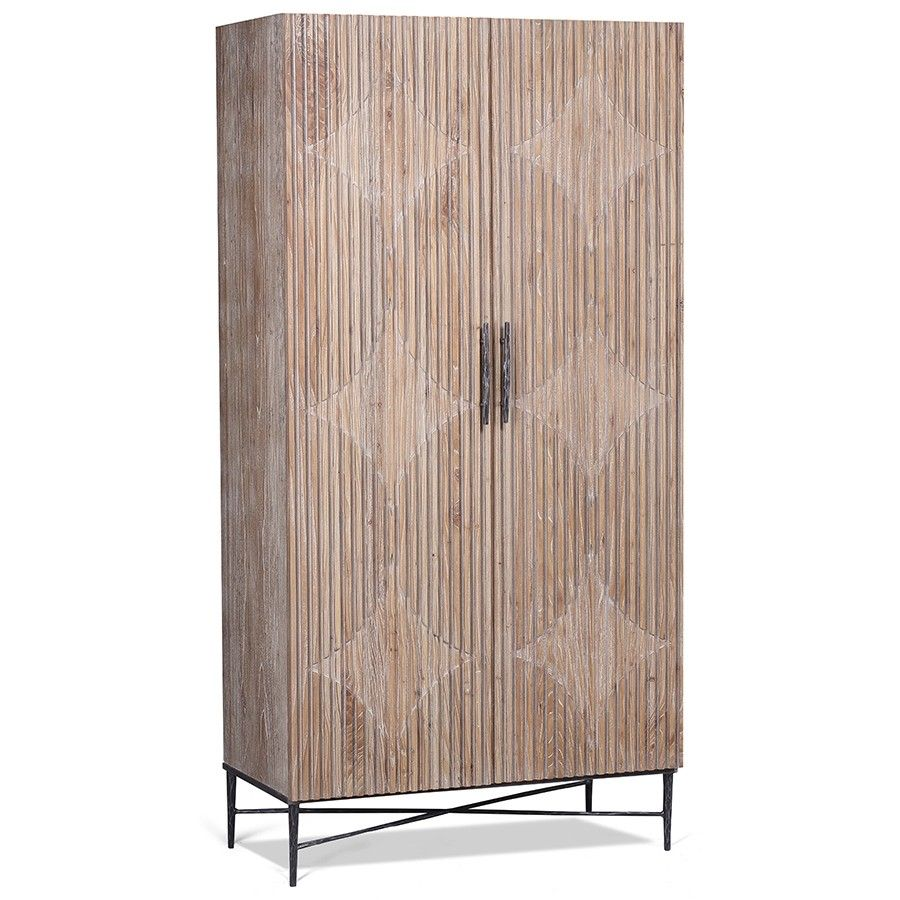 Dovetail Zell Cabinet Tall Cabinets