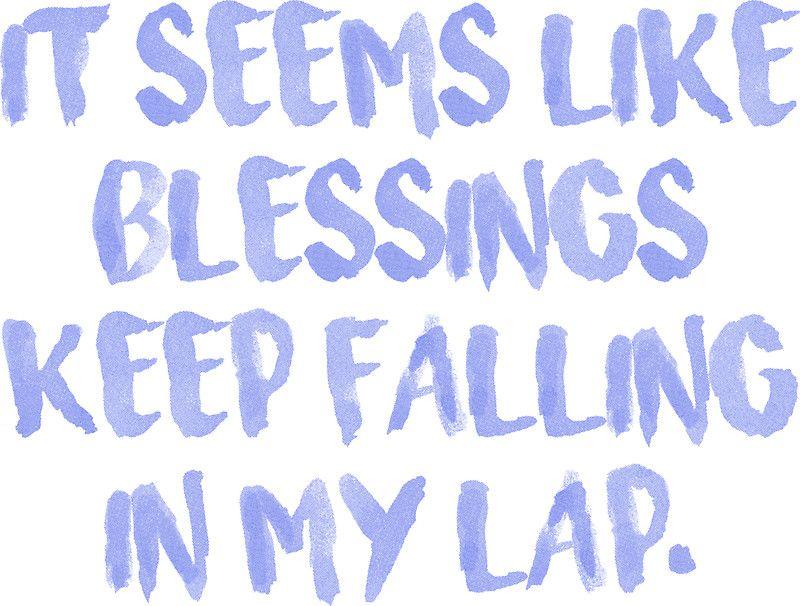 Blessings Chance The Rapper Lyrics