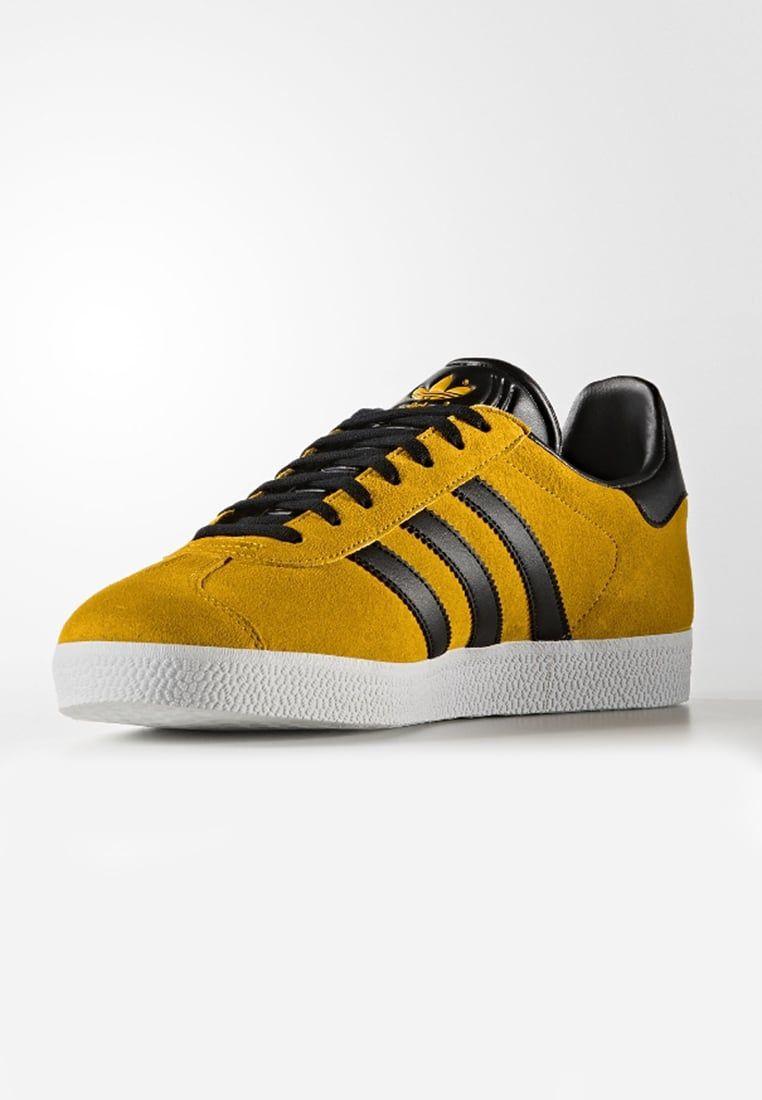 adidas Originals GAZELLE - Trainers - yellow 133d5f62a