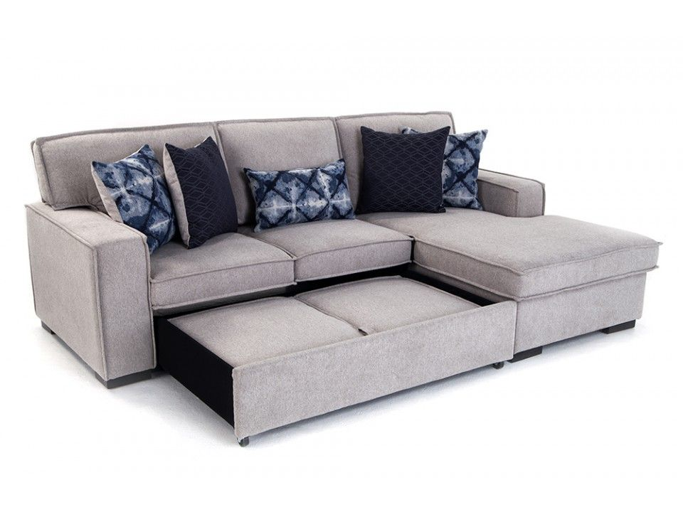 Playscape Left Arm Facing Sectional Sleeper Sofas Living Room