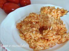 Riso con il pomodoro veloce-ricette con il magic cooker