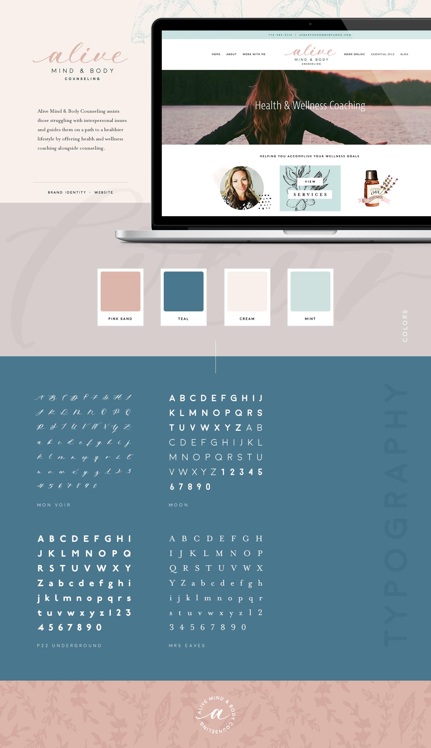 Feminine Brand Identity Squarespace Website Design Femaleentrepreneur Brand Identity Website Design Inspiration Minimal Web Design