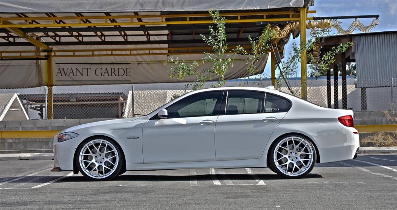 BMW 550i with Avant Garde Wheels by Element Wheels in