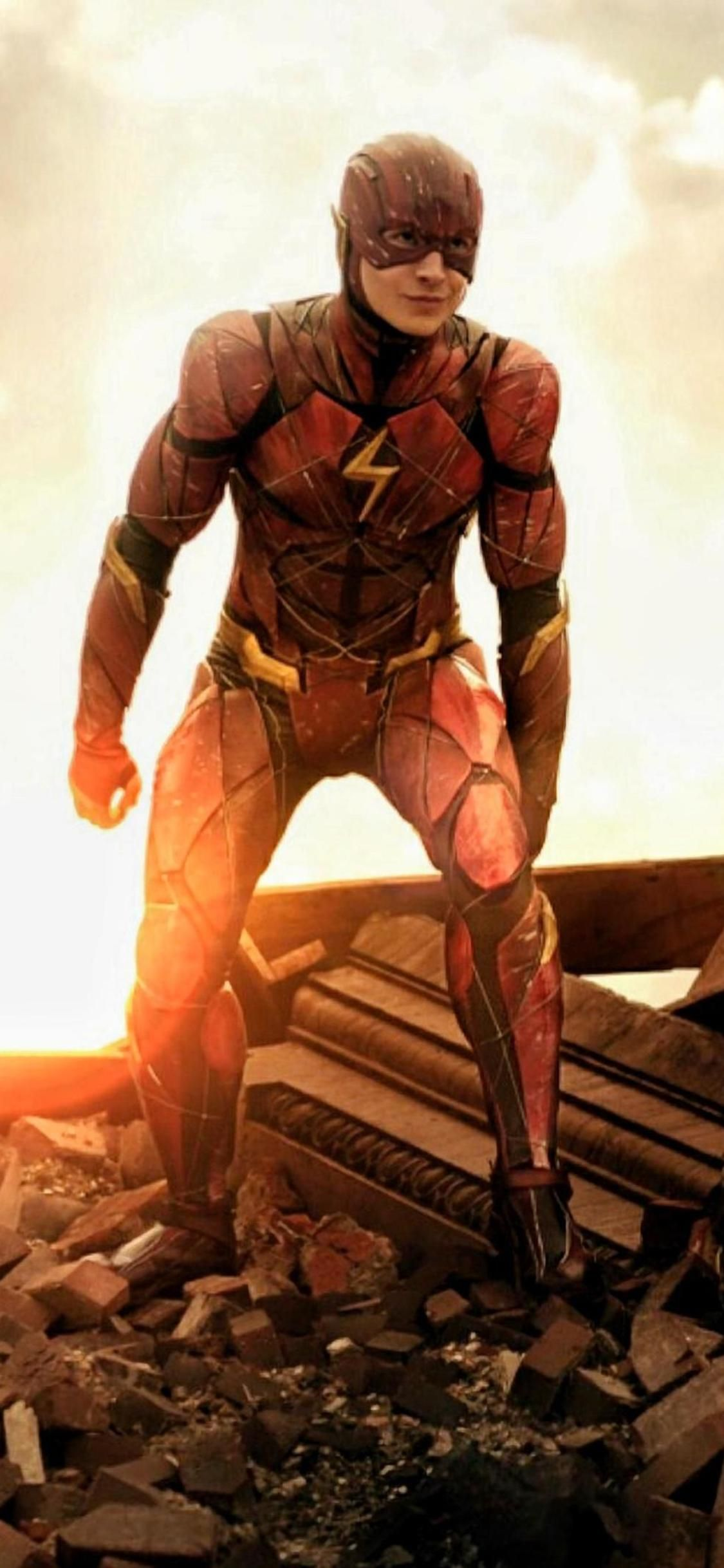 1125x2436 Flash Justice League New Iphone XS,Iphone 10