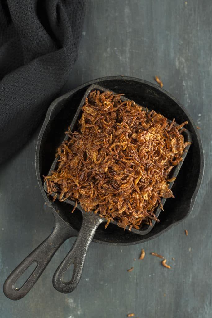 Make Perfect Birista / Crispy Golden Fried Onions #howtofryonions