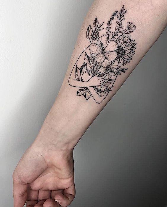 Photo of 60+ superbes et merveilleuses idées de conception de tatouage de bras pour les femmes #tattoo #smalltatto … …
