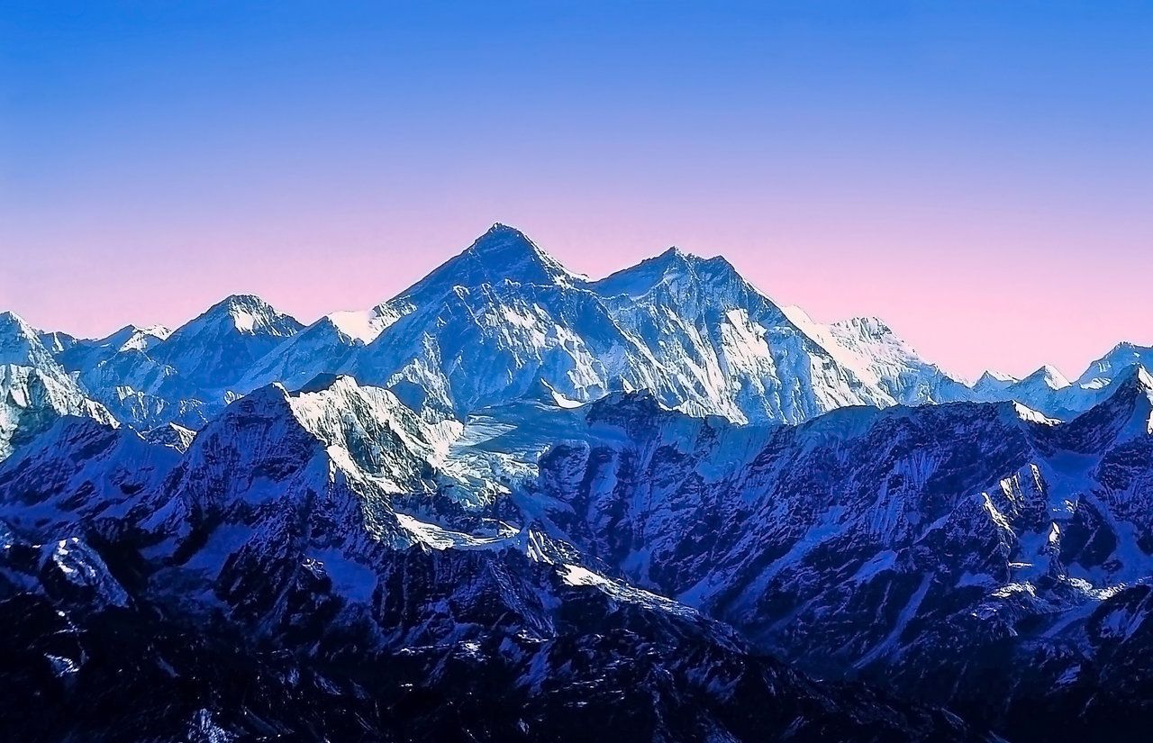 The Himalayas scenery is among the most spectacular in the world ...