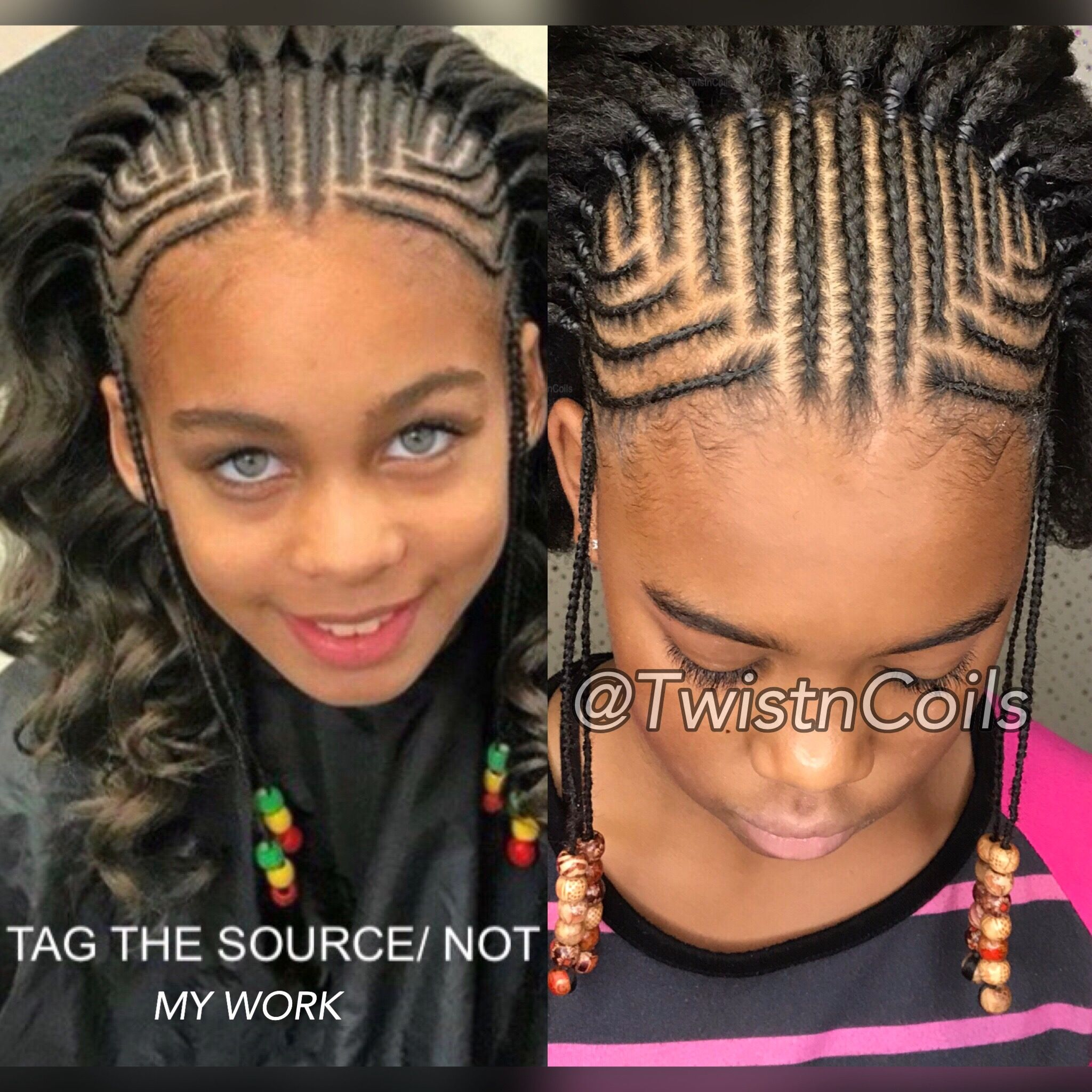 Kids Natural Hairstyles Image By Twistncoils Natural Hair Styles