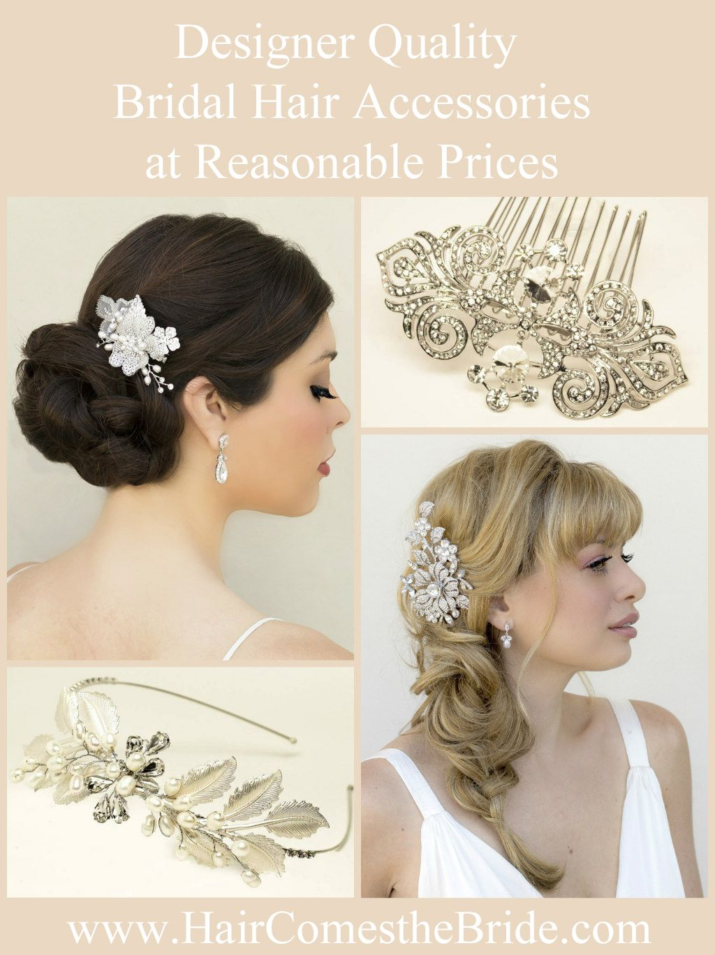 Designer Bridal Hair Accessories at Reasonable Prices ~ Real Bride ...
