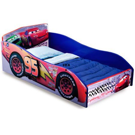 Baby Toddler Car Bed Wooden Toddler Bed Convertible
