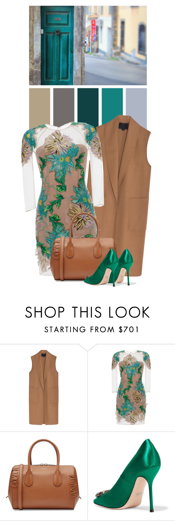 """Dahlia"" by cherieaustin ❤ liked on Polyvore featuring Alexander Wang, Blumarine, Nina Ricci and Gucci"
