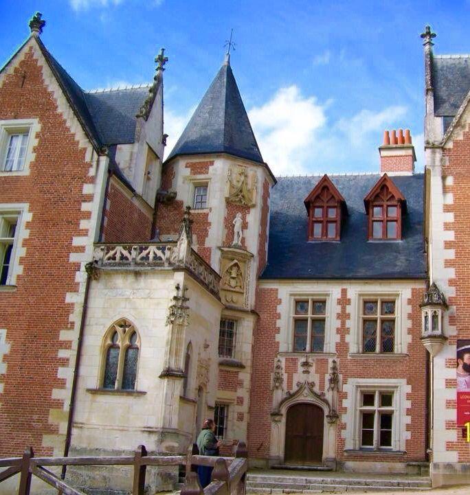Leonardo Da Vinci S Home Chateau Clos Du Luce In Amboise France Amboise France Amboise French Castles