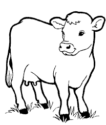 Image Result For Farmyard Outline Drawings For Kids Farm Animal Coloring Pages Cow Coloring Pages Animal Coloring Books