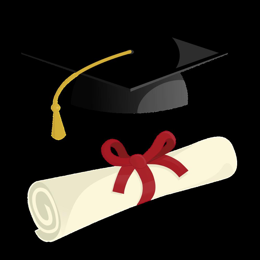 High school graduation, College majors Dawn and Hope