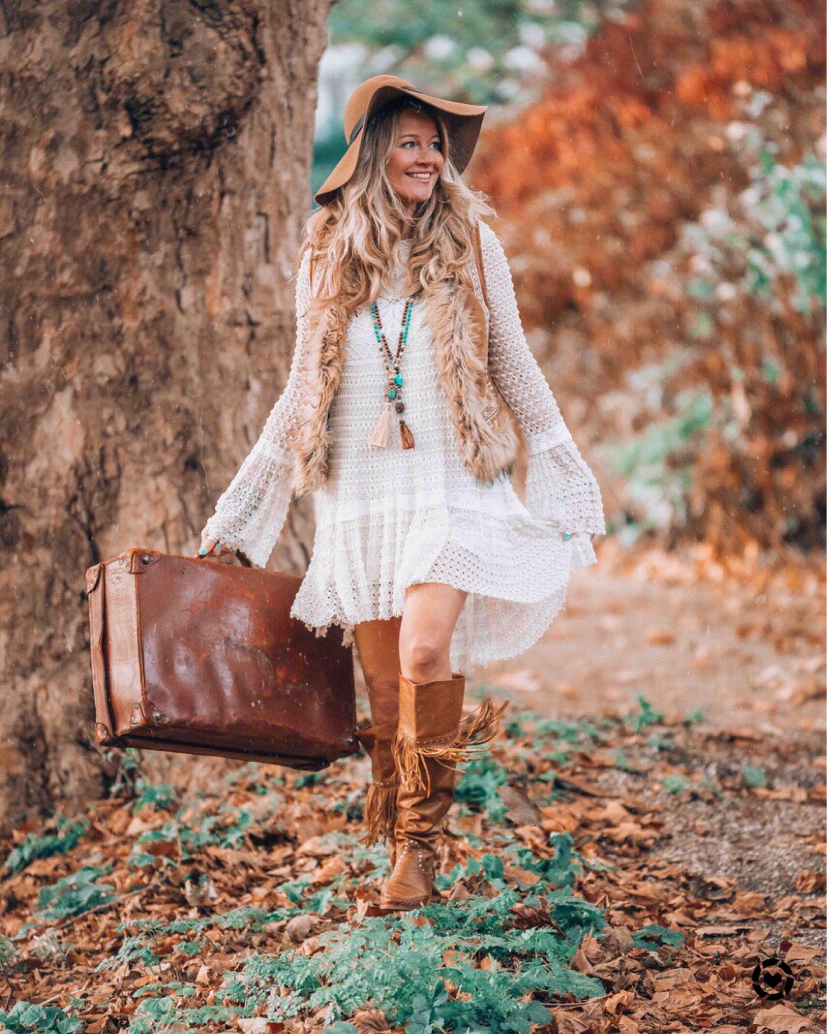 Bohemian Autumn Style Boho Chic Fashion Bohemian Clothes Bohemian Style Clothing