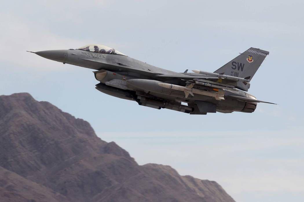 Thunderbirds pilot killed after jet crashes near las vegas