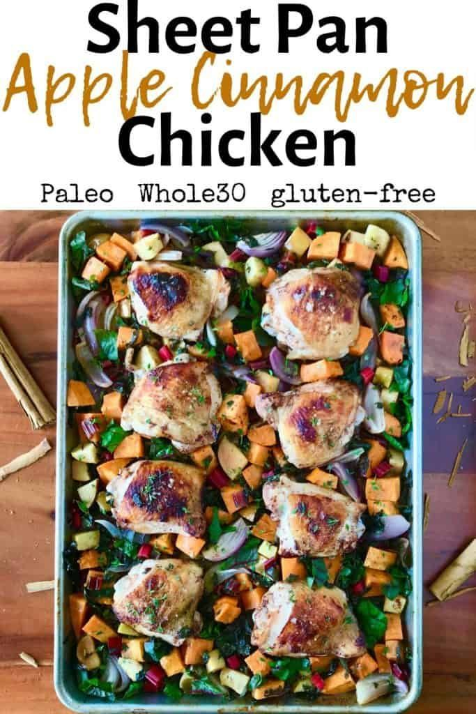 Sheet Pan Apple Cinnamon Chicken (Paleo, Whole30) - Paleo Gluten-Free Guy