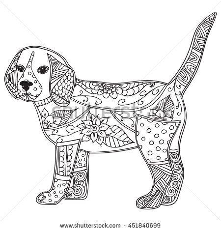 Image Result For Easy Zentangle Patterns Dog Coloring Page Puppy Coloring Pages Dog Coloring Book