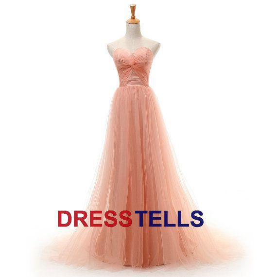 long pink prom dresses on Wanelo | Pretties | Pinterest | Strapless ...