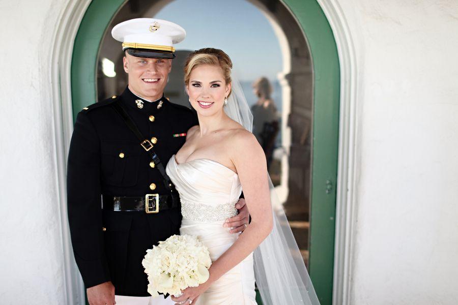 Army Wedding Dresses Amazing Marine Corp Wedding California