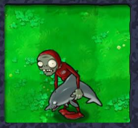 Zombi delfín (Plants vs Zombis)