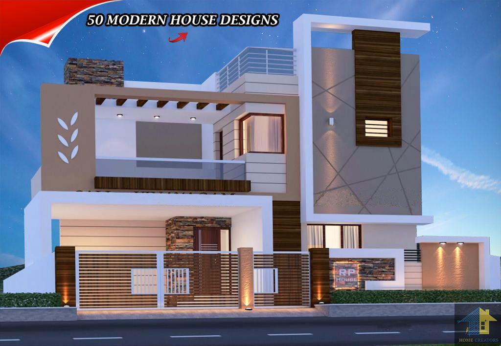 Pin By Kamalaji Kattimani On Klk House Plans Mansion Bungalow House Design House Front Design Contemporary house elevation double floor