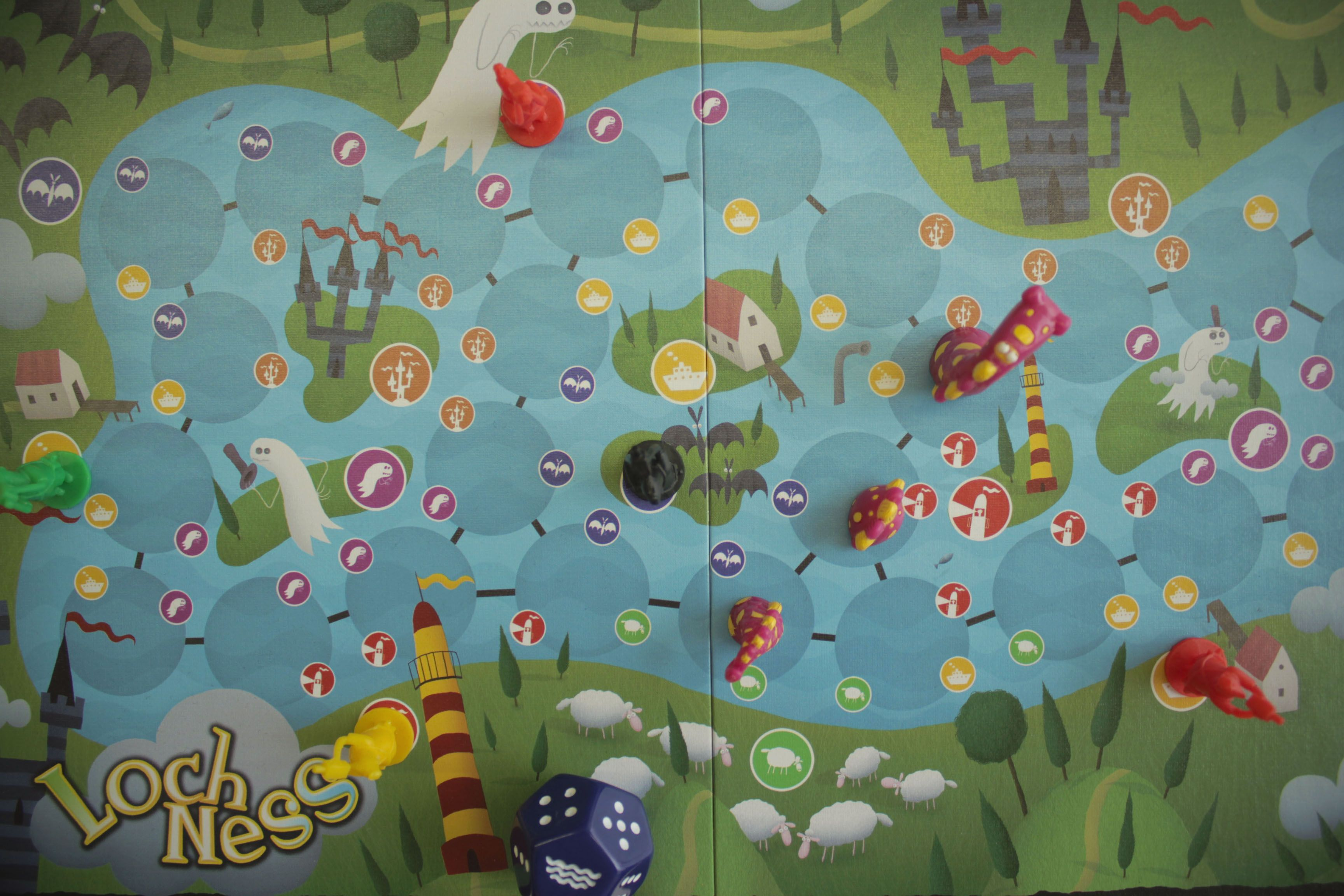Boardgame Loch Ness Jogo De Tabuleiro Loch Ness More Www Facebook Com Torredejogos Jogos De Tabuleiro Tabuleiro Jogos