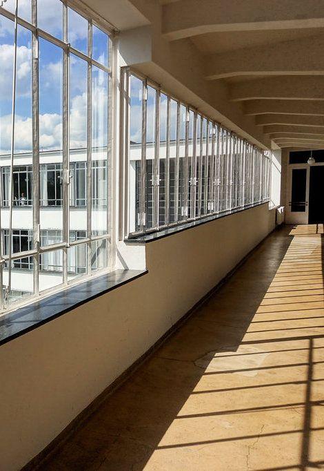 Walter Gropius in Dessau Part I Architecture details