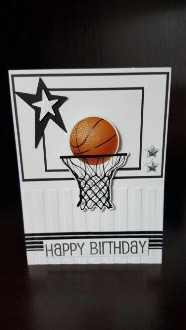 Basketball Birthday Cards Birthday Cards For Friends Basketball Birthday Cards Themed Cards