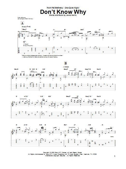 Norah Jones Don T Know Why Partition Tablature Guitare Plus De 70 000 Partitions A Imprimer Tablature Tablature Guitare Partitions A Imprimer