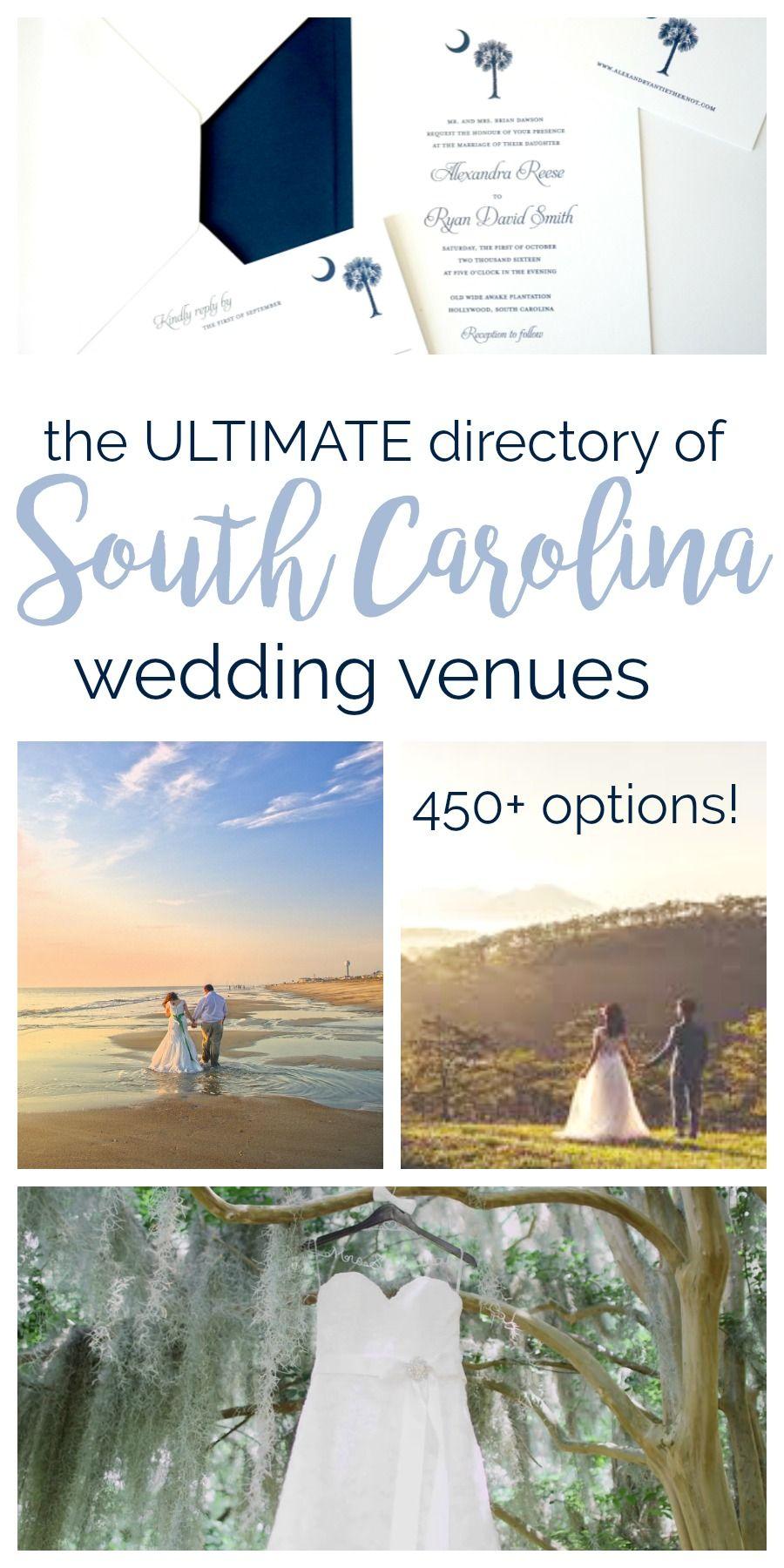 South Carolina Wedding Venues