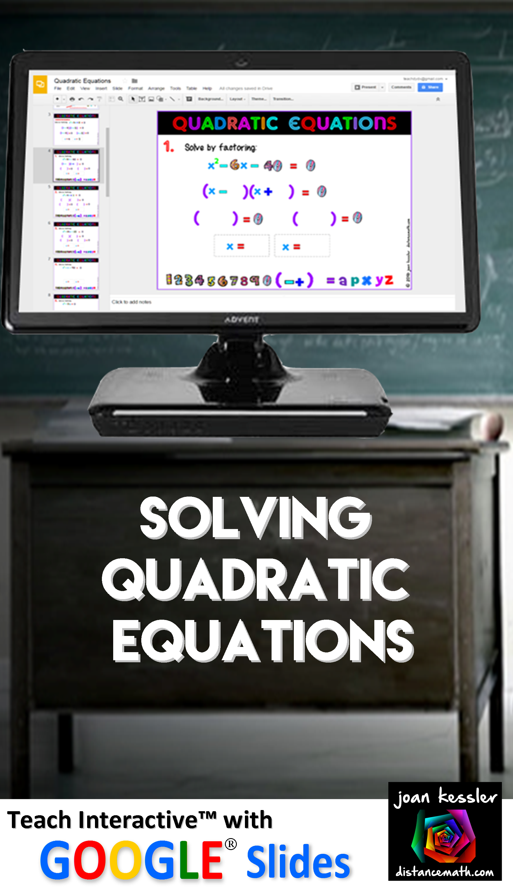 Algebra Solving Quadratic Equations By Factoring With