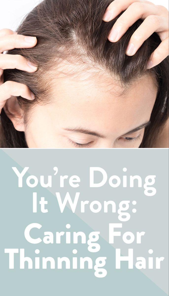 Treating Thinning Hair
