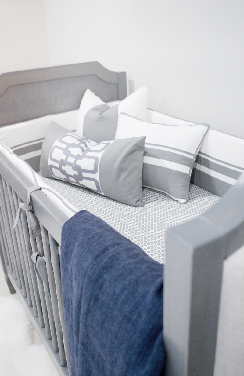 Baby Cannon's Nursery + a Giveaway Modern baby bedding