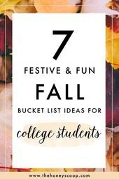7 Fall Bucket List Ideas For College Students #fallbucketlist Read more for 7 Fa… – pink hair