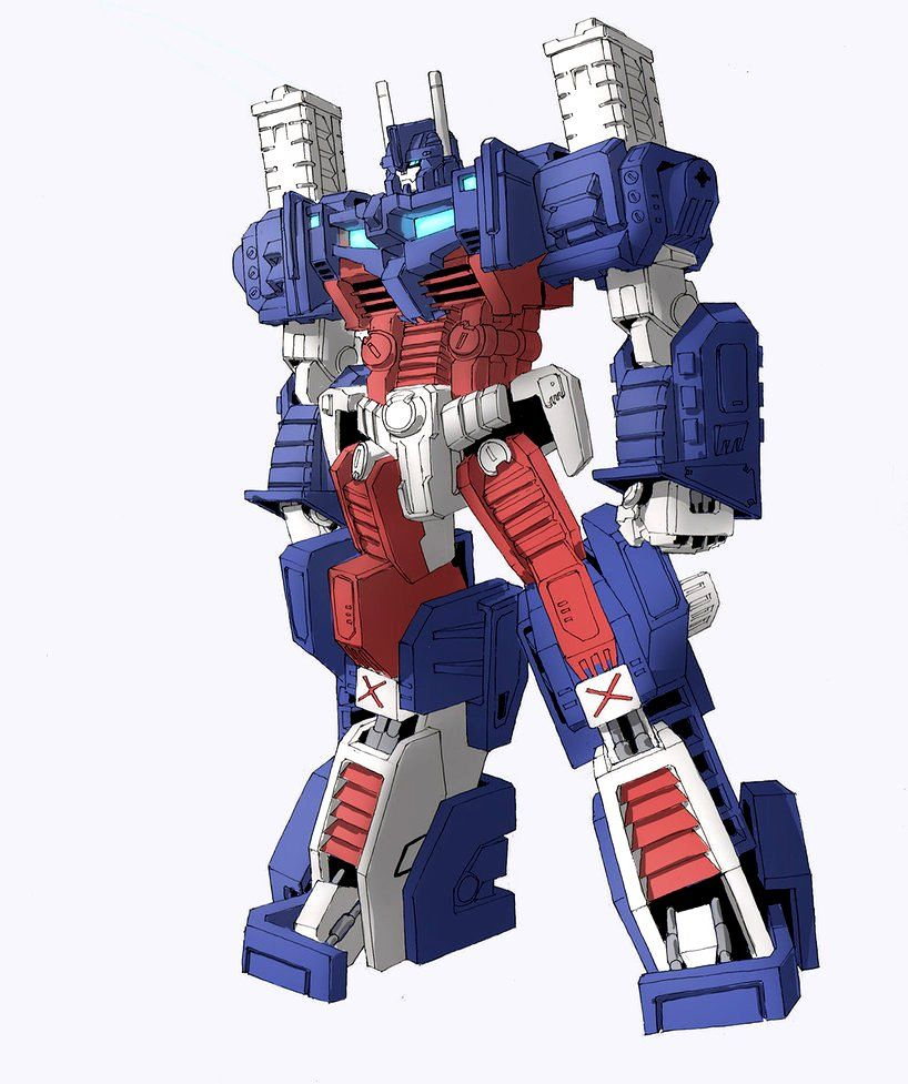 Autobot ultra magnus g1 art by tgping