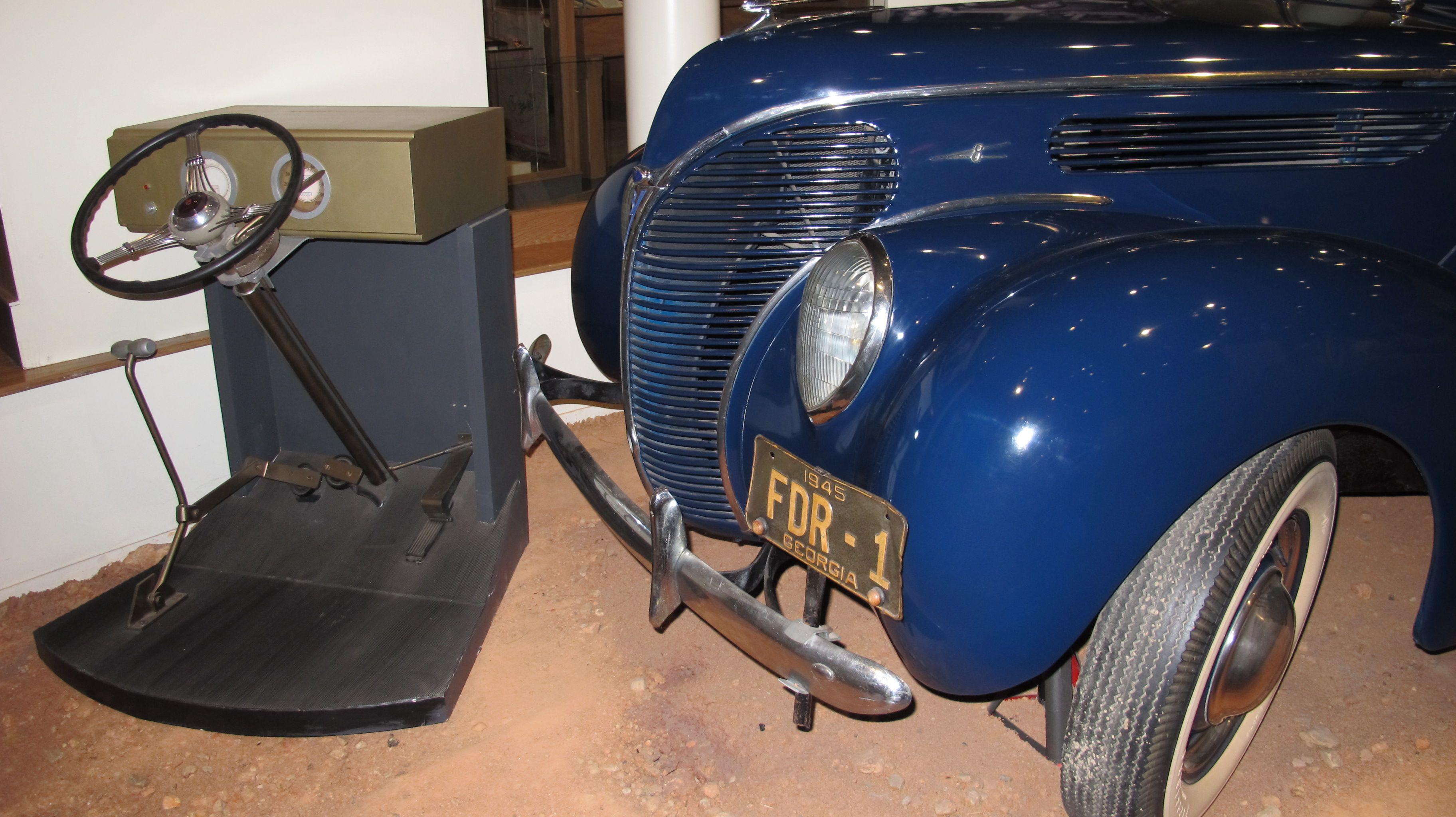 FDR's car at Warm Springs